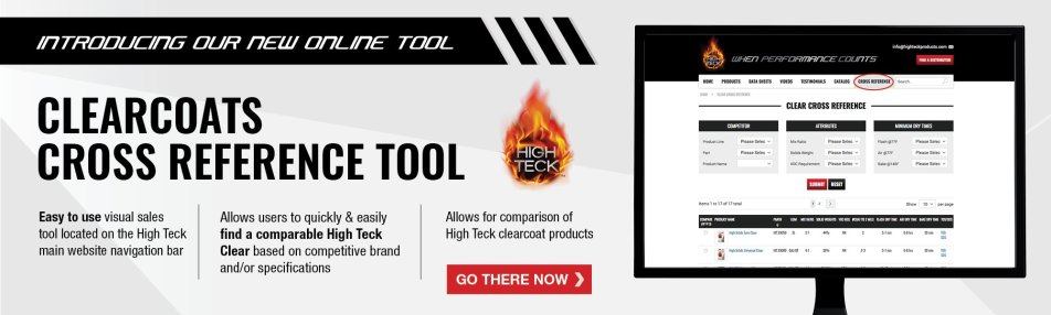 High Teck Clears Cross Reference Tool